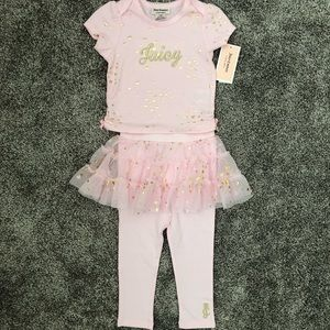 NWT!  Juicy Couture 2-Piece Outfit - Size 24M